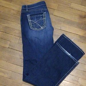BKE Kate stretch darkwash jeans